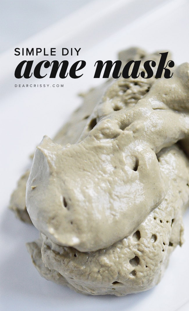 DIY Acne Mask  Homemade Face Mask Recipes for Radiant Skin
