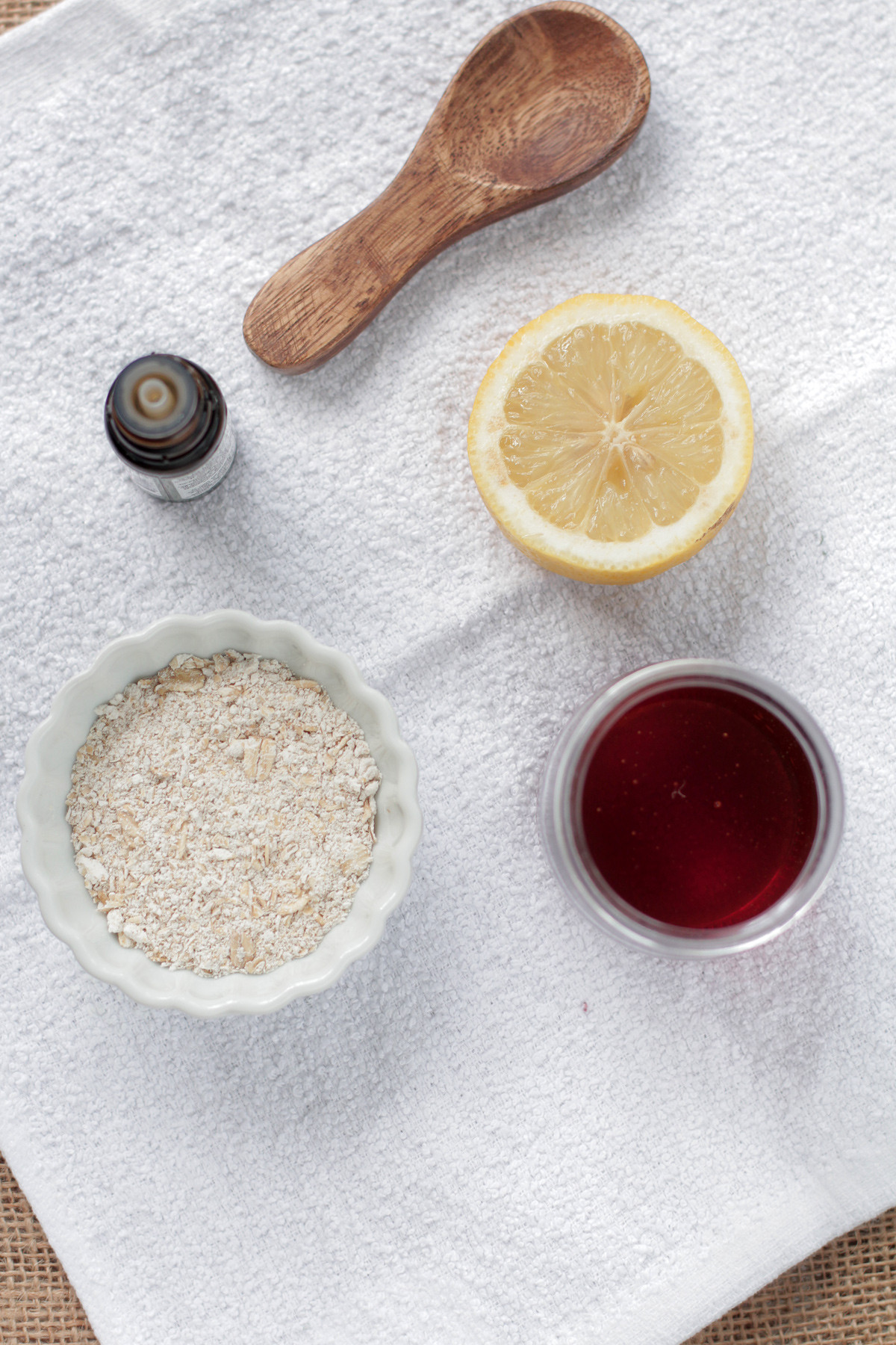 DIY Acne Mask  Homemade Honey Oatmeal Acne Mask Live Simply