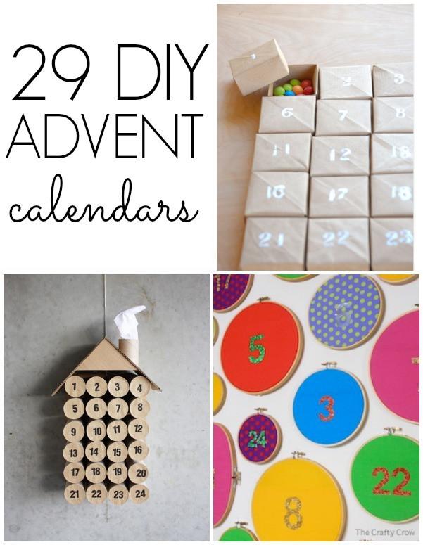 DIY Advent Calendar For Kids  29 DIY Advent Calendars C R A F T