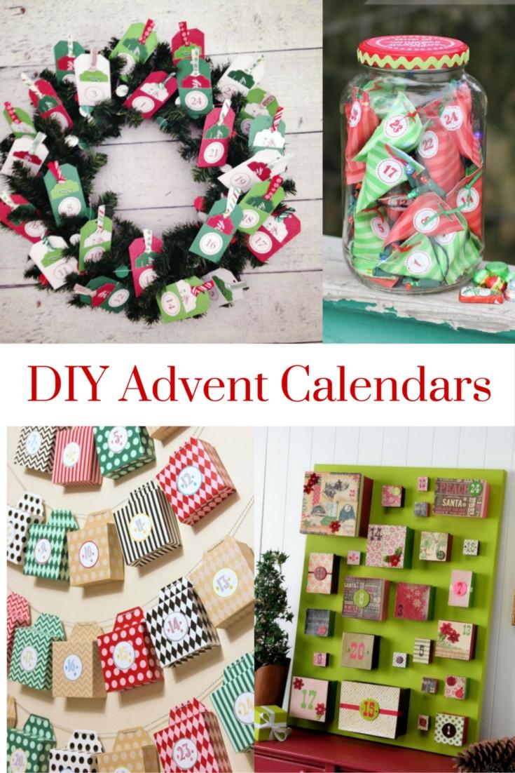 DIY Advent Calendar For Kids  DIY Advent Calendars
