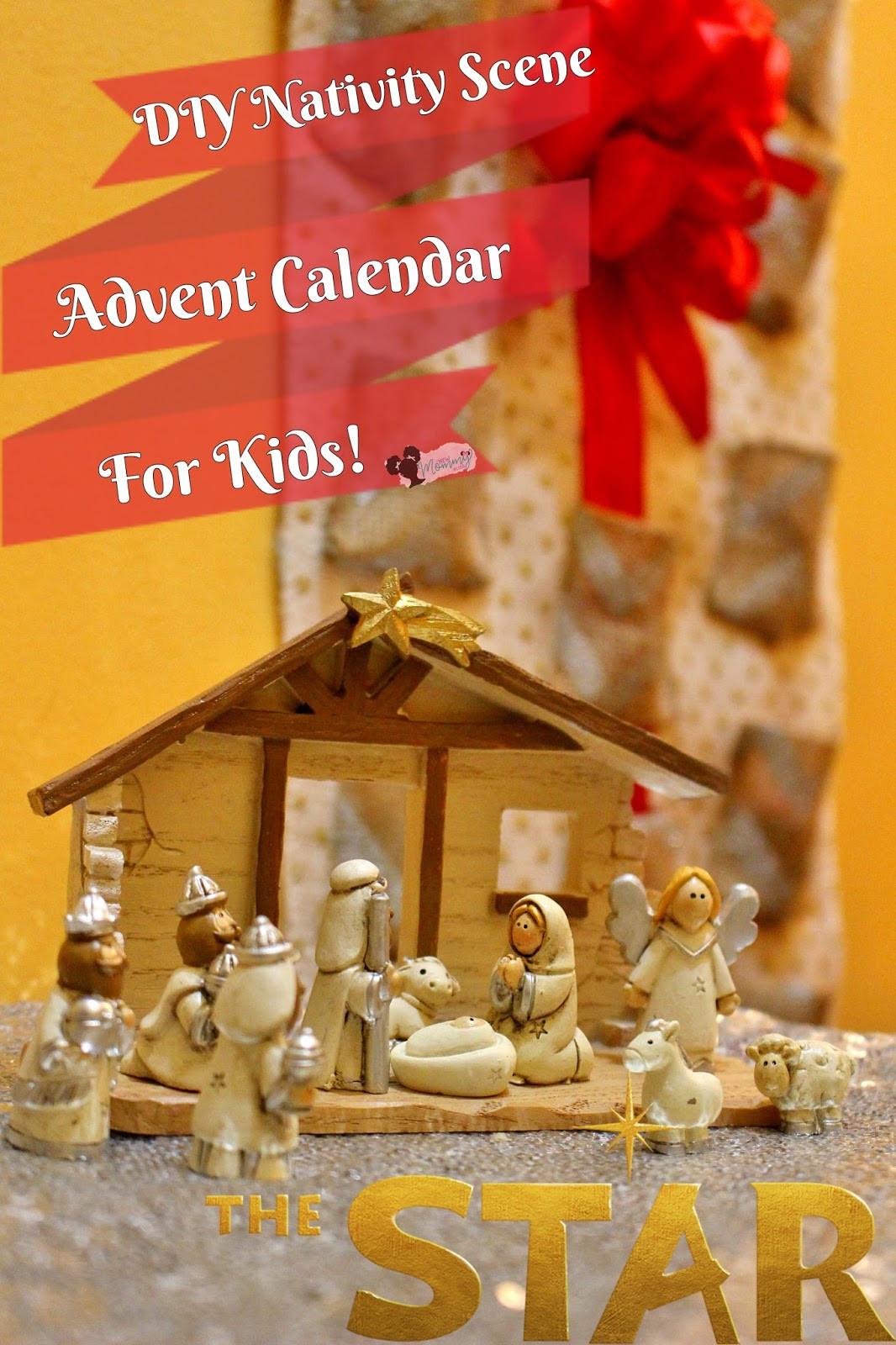 DIY Advent Calendar For Kids  DIY Nativity Advent Calendar For Kids TheStar New Mommy