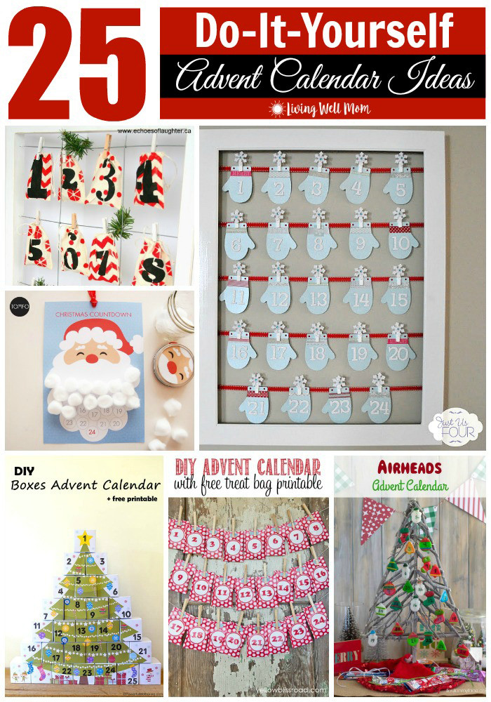 DIY Advent Calendar For Kids  25 DIY Advent Calendar Ideas