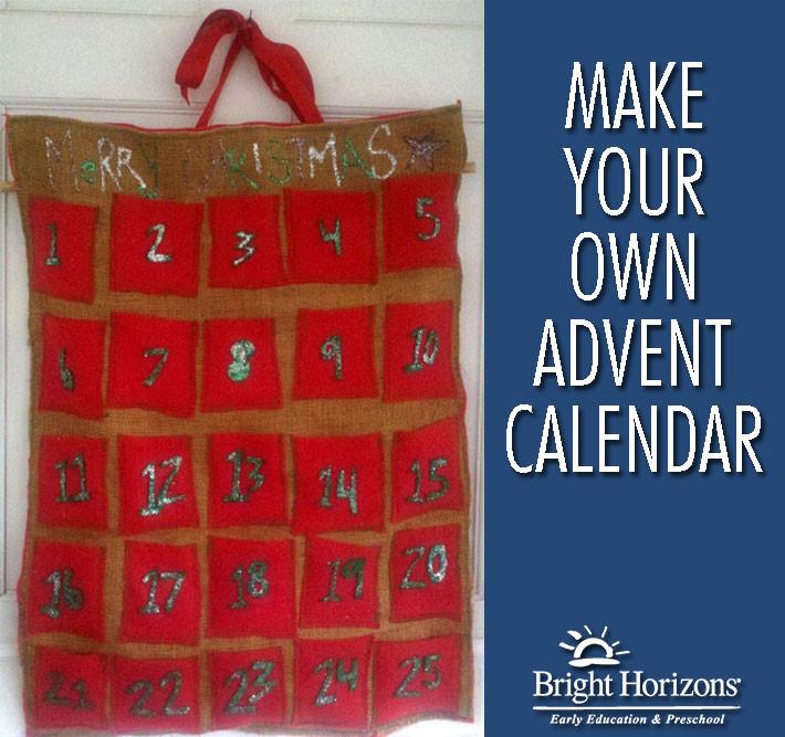 DIY Advent Calendar For Kids  Homemade Advent Calendars Craft Ideas for Kids