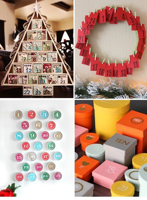 DIY Advent Calendar For Kids  12 DIY Advent Calendars to Make with Kids — Eatwell101