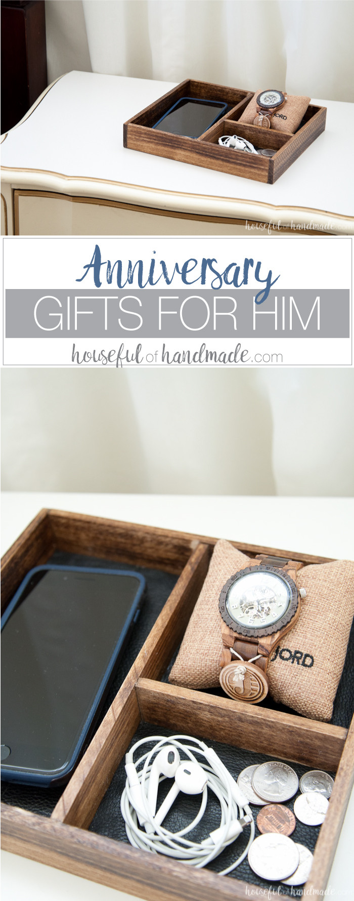 DIY Anniversary Gifts For Him  Anniversary Gifts for Him a Houseful of Handmade