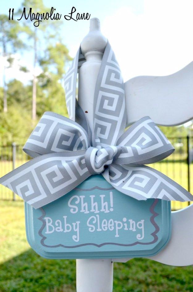 DIY Baby Boy Gifts  42 Fabulous DIY Baby Shower Gifts