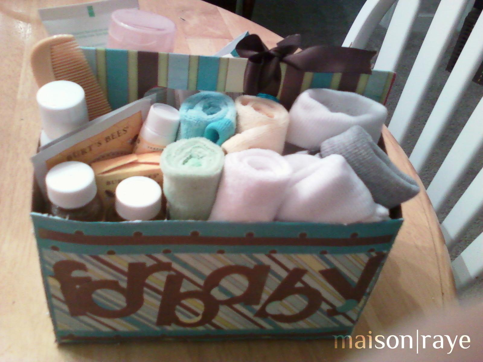 DIY Baby Boy Gifts  Diy Baby Shower Gift Image