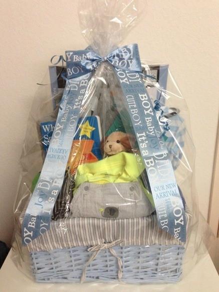 DIY Baby Boy Gifts  DIY Newborn Baby Gift Basket