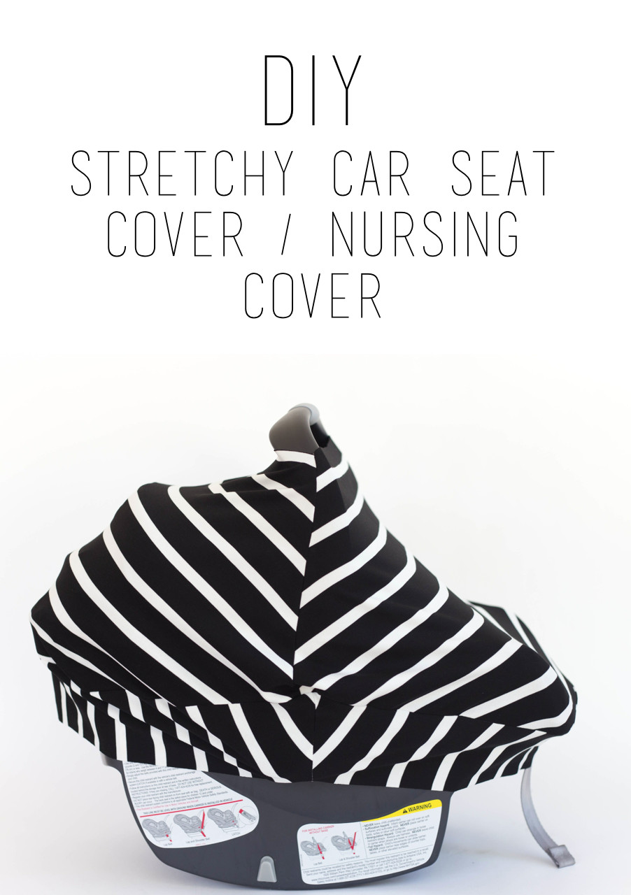 Best ideas about DIY Baby Car Seat Cover . Save or Pin do it yourself divas DIY Stretchy Car Seat Cover Now.