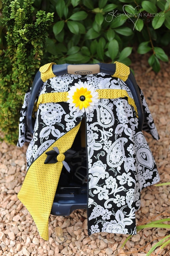 Best ideas about DIY Baby Car Seat Cover . Save or Pin DIY car seat cover These are so easy to make and I love Now.