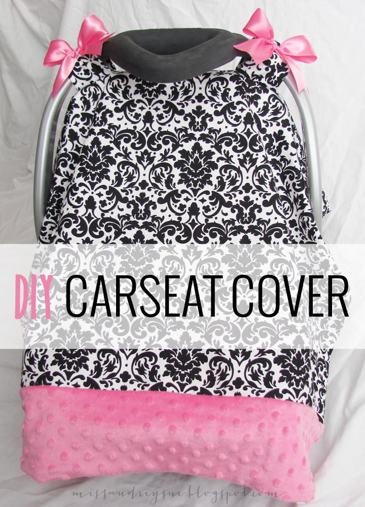 DIY Baby Car Seat Covers  DIY carseat cover tutorial