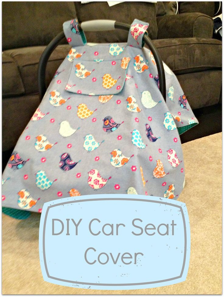 DIY Baby Car Seat Covers  17 Best images about Babyshower t ideas on Pinterest