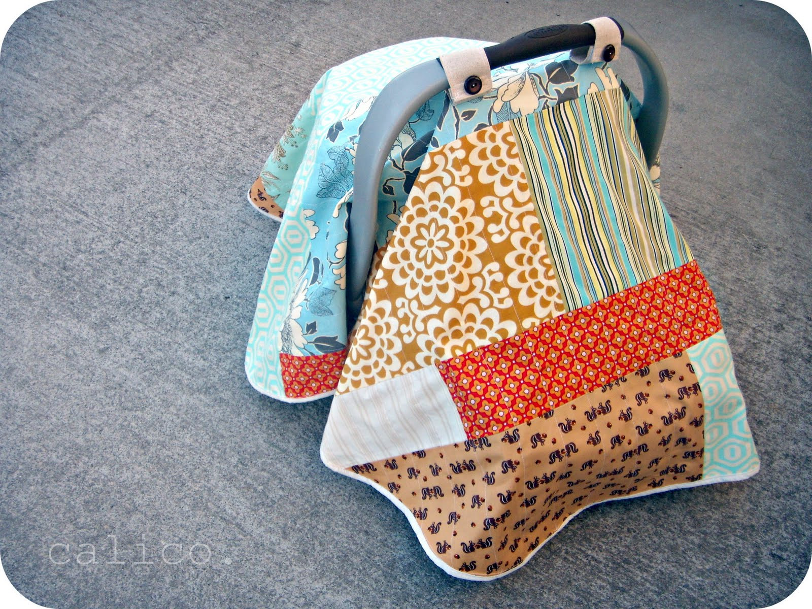 DIY Baby Car Seat Covers  25 DIY Baby Shower Gifts for the Little Boy on the Wa