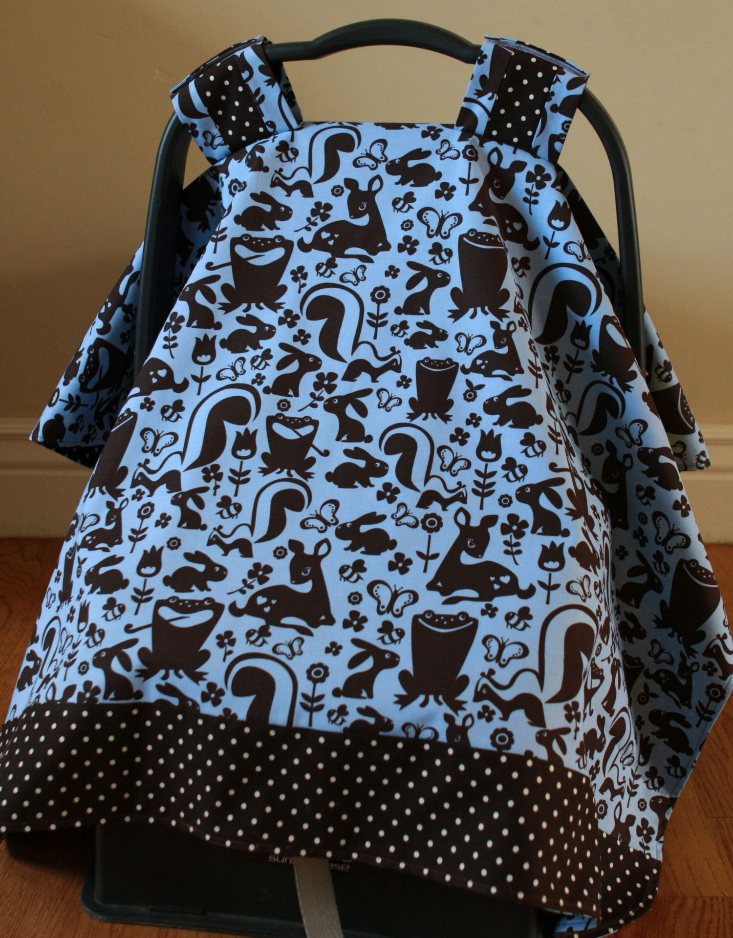 DIY Baby Car Seat Covers  car seat canopy pattern