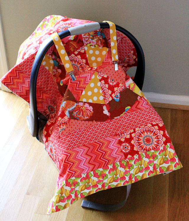 DIY Baby Car Seat Covers  DIY Carseat Canopy Nursing Cover