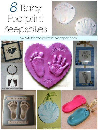 Best ideas about DIY Baby Footprint . Save or Pin Baby Crafts Diy Craft Ideas Now.
