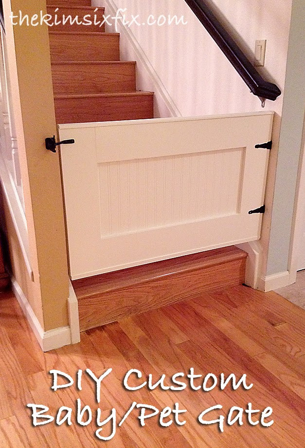 Best ideas about DIY Baby Gate Plans . Save or Pin This post may contain affiliate links Now.