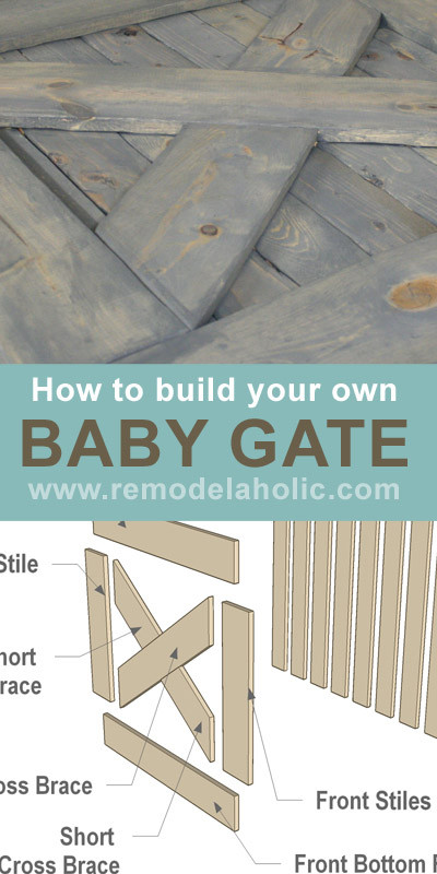 Best ideas about DIY Baby Gate Plans . Save or Pin Free Plans DIY Barn Door Baby Gate for Stairs Now.