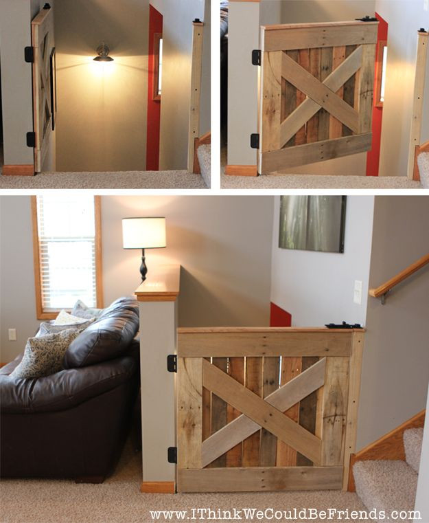 Best ideas about DIY Baby Gate Plans . Save or Pin Wood Pallet Projects DIY Projects Craft Ideas & How To's Now.