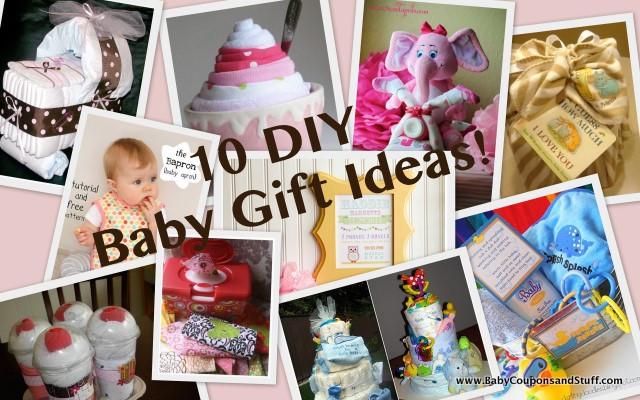 Diy Baby Gift Ideas  10 Adorable DIY Baby Gift Ideas