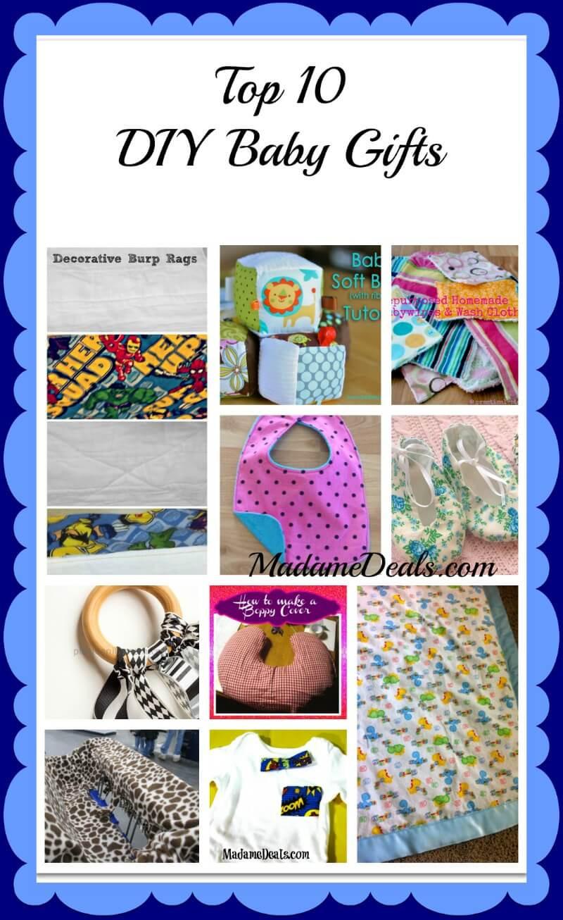 Diy Baby Gift Ideas  Top 10 DIY Baby Gift Ideas Real Advice Gal