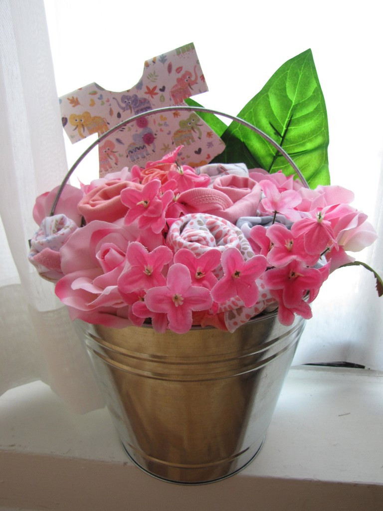 Best ideas about DIY Baby Girl Gift . Save or Pin diy baby shower t idea Now.