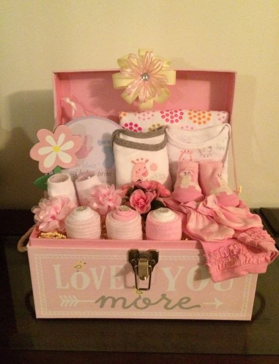 Best ideas about DIY Baby Girl Gift . Save or Pin The 25 best Baby shower t basket ideas on Pinterest Now.