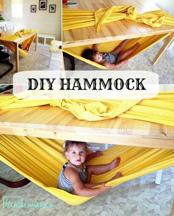 DIY Baby Hammock  DIY Hammock Awesome Cool Ideas I want to try