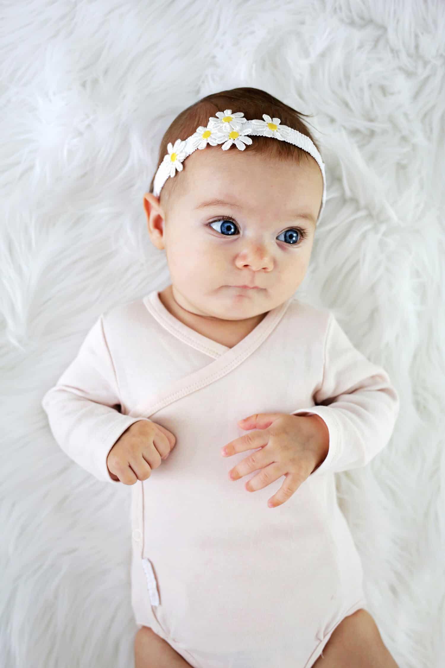 DIY Baby Headbands  Baby Headband DIY 3 Ways and No Sew A Beautiful Mess