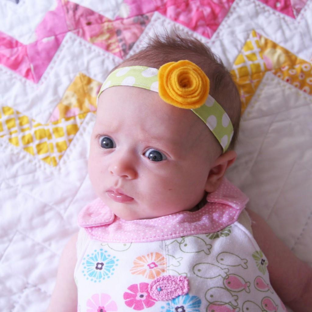 DIY Baby Headbands  DIY Headband Tutorial Homemade Ginger