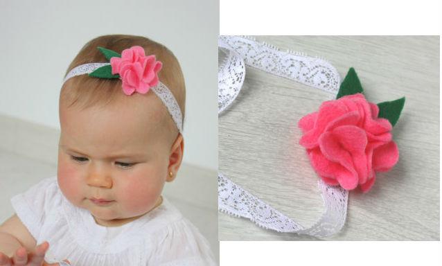 DIY Baby Headbands  DIY Baby Headbands