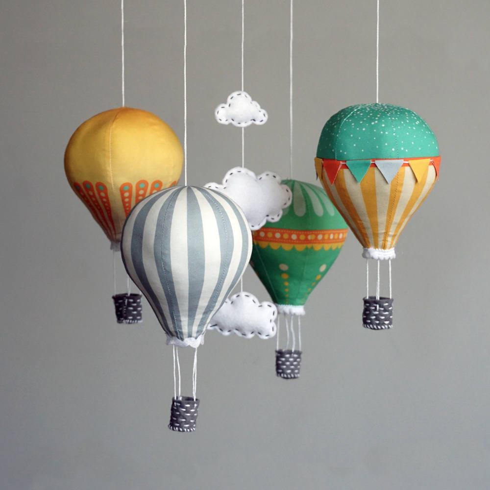 DIY Baby Mobile Kits  DIY baby mobile kit hot air balloon kit modern nursery