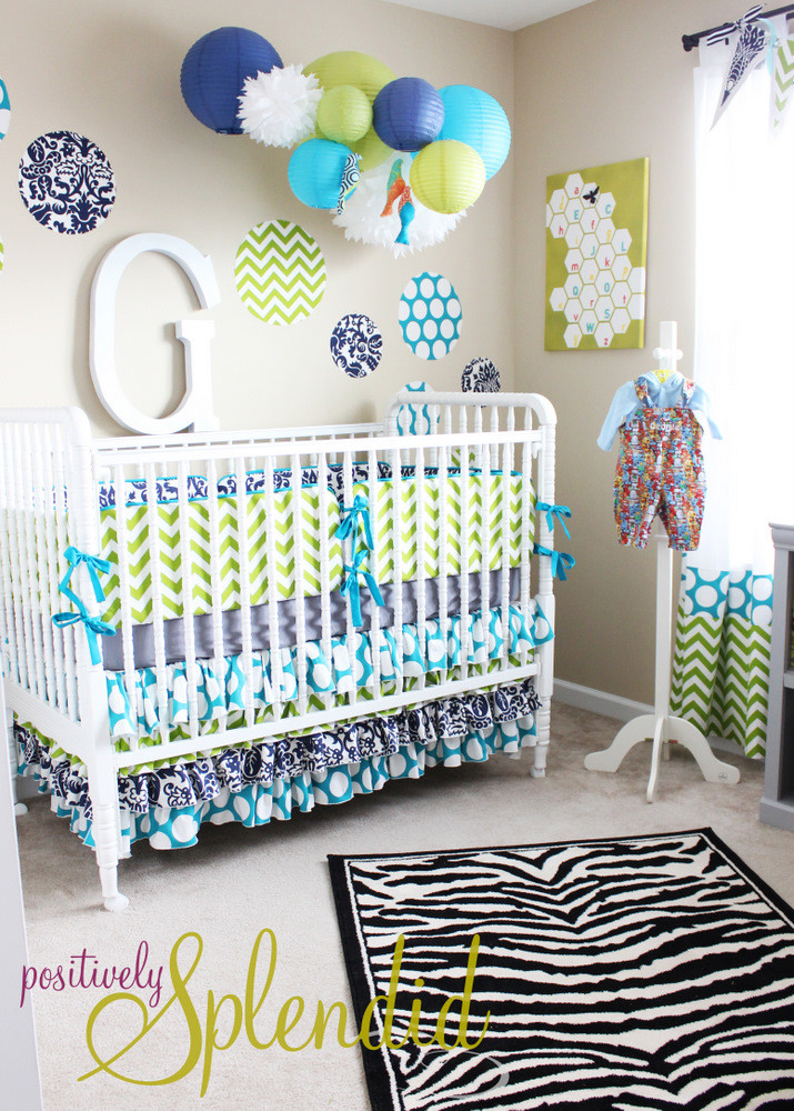 DIY Baby Nursery Projects  Home Sweet Home Baby Boy Nursery Tour