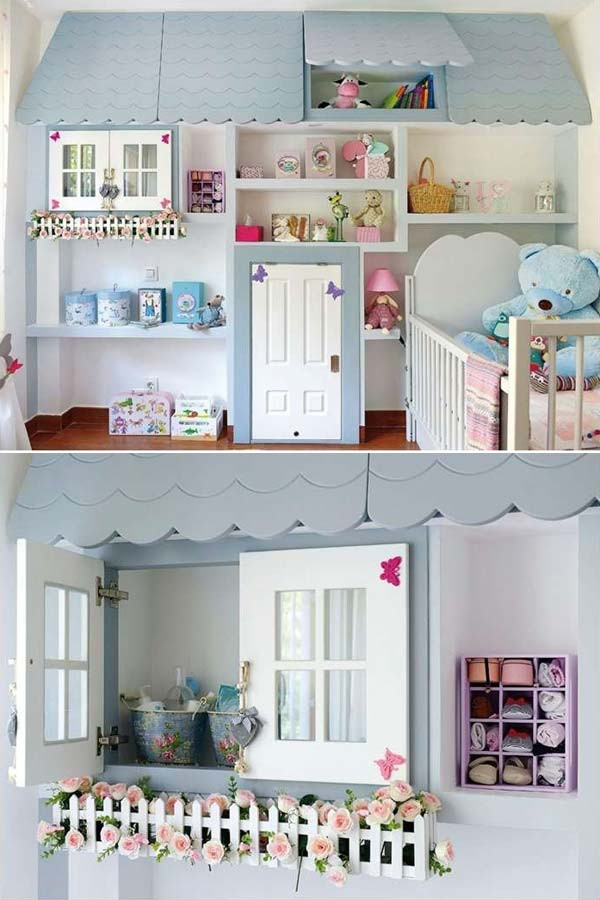 DIY Baby Nursery Projects  22 Terrific DIY Ideas To Decorate a Baby Nursery Amazing