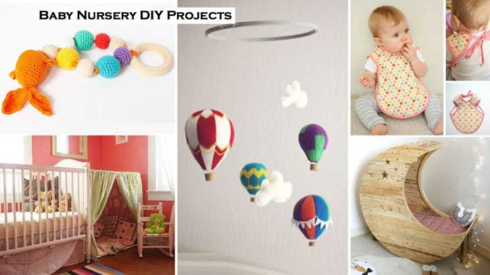 DIY Baby Nursery Projects  Getting ready for a baby 22 DIY projects to craft for