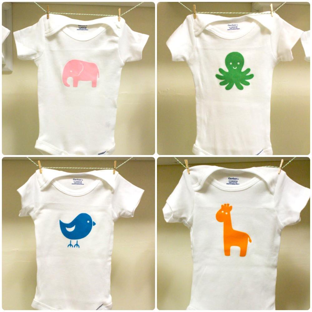 DIY Baby Onesie Ideas  30 D I Y Baby esies the thinking closet