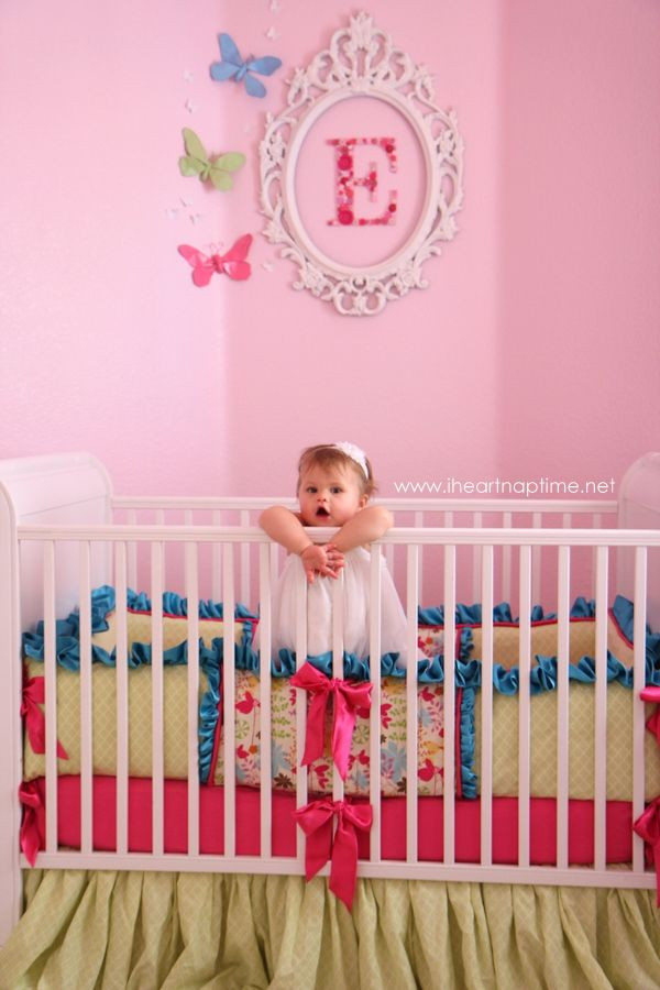 DIY Baby Room Decorations  Emmalyn s nursery reveal DIY