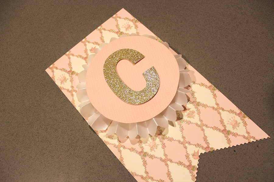DIY Baby Shower Banners  Make This Pretty DIY Party Banner It s Much Easier Than