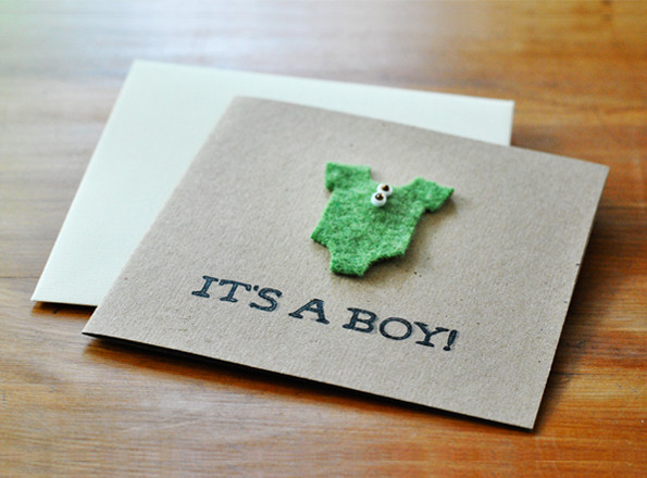 Best ideas about DIY Baby Shower Cards . Save or Pin Maiko Nagao DIY baby shower card Now.