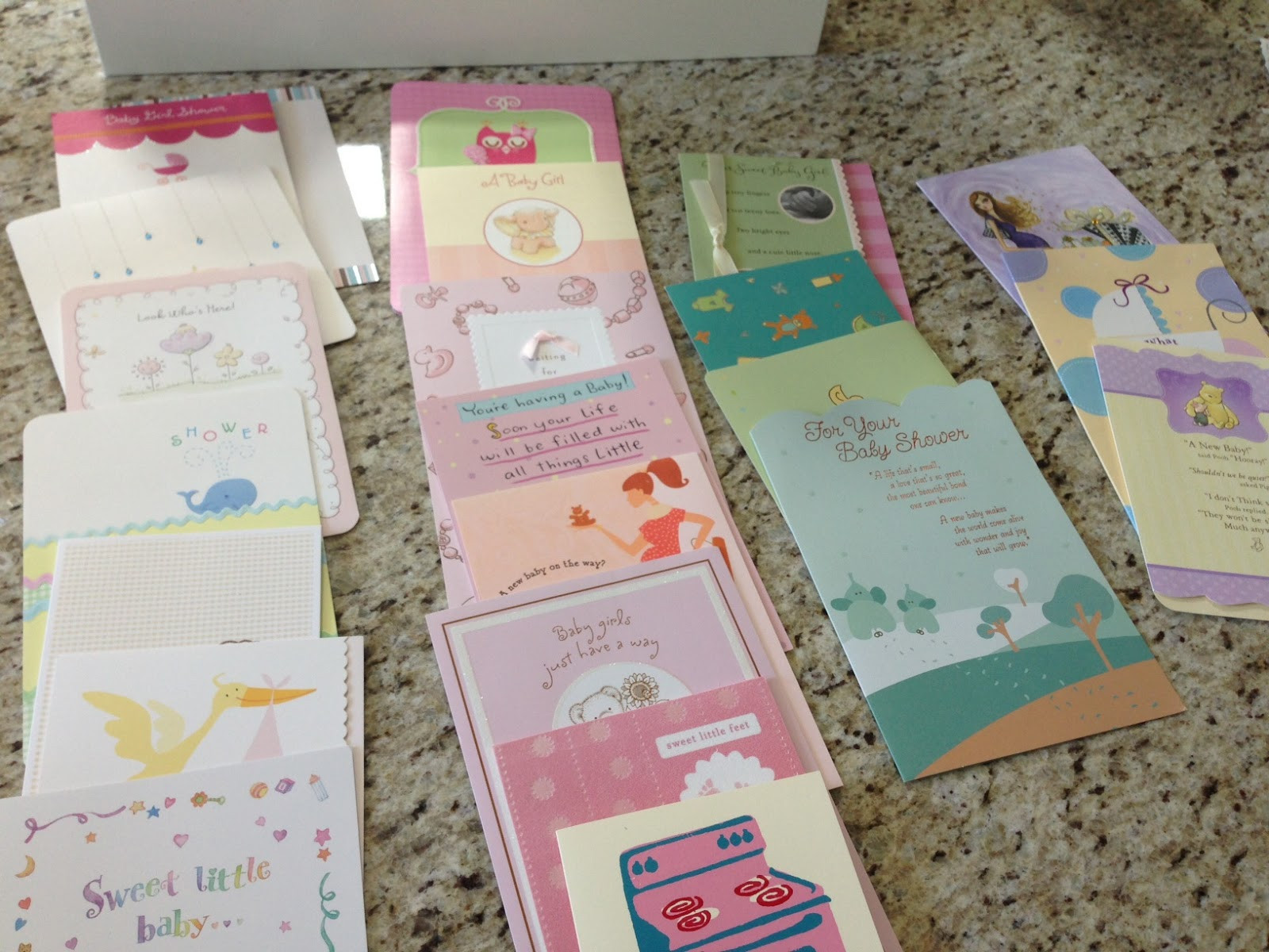Best ideas about DIY Baby Shower Cards . Save or Pin Veronika s Blushing DIY Transform Your Baby Shower Cards Now.
