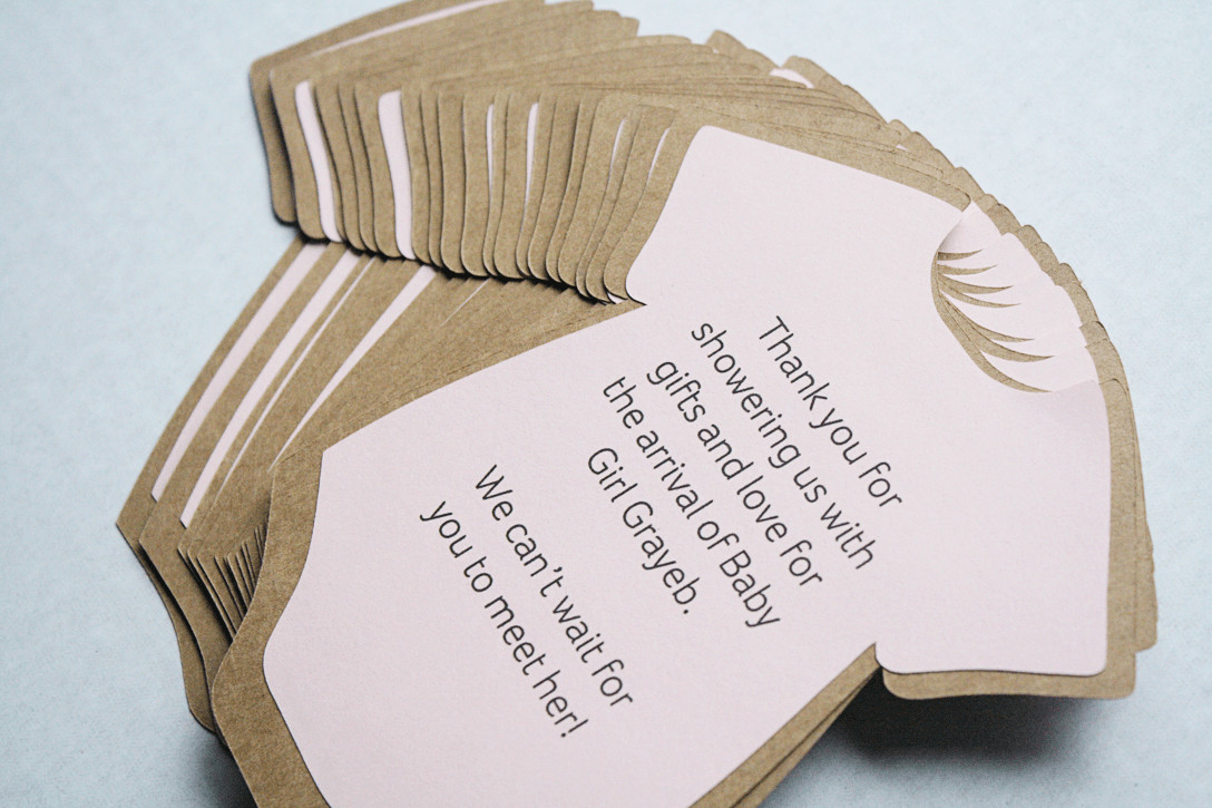 Best ideas about DIY Baby Shower Cards . Save or Pin DIY Baby Shower Invitations or Thank You Cards Now.