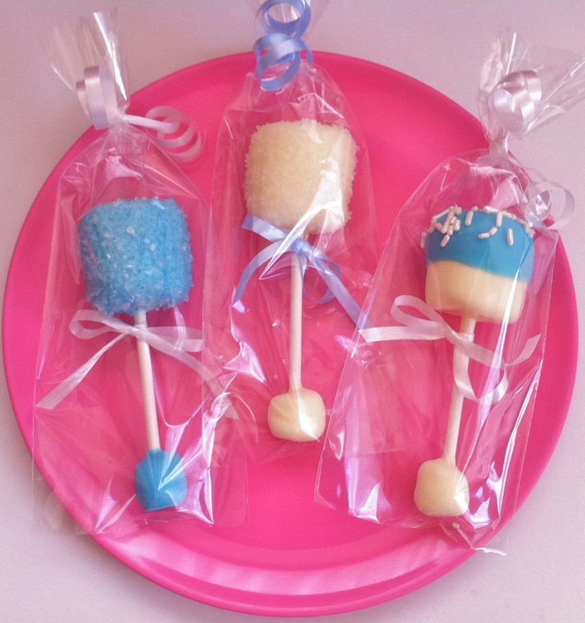 Best ideas about DIY Baby Shower Favors Ideas . Save or Pin Homemade Baby Shower Favors Baby Rattle Pops Now.