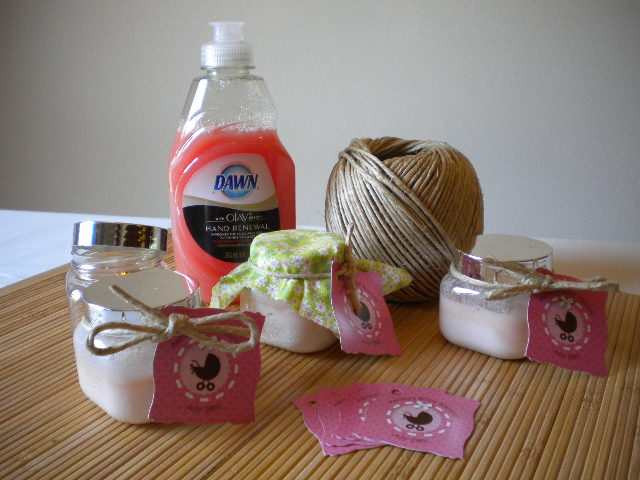 Best ideas about DIY Baby Shower Favors Ideas . Save or Pin Homemade Baby Shower Favor Ideas Household Tips Now.