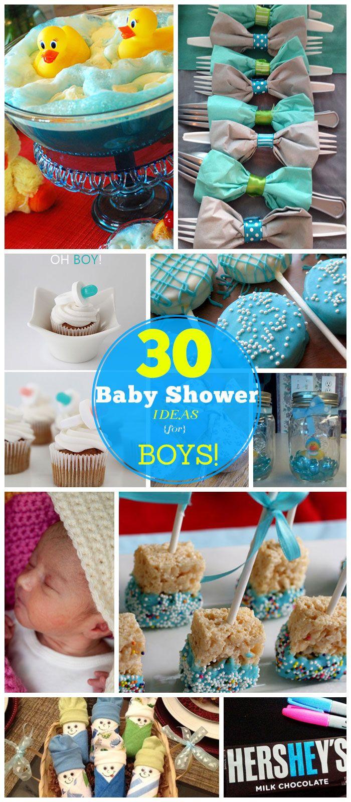 DIY Baby Shower Ideas For A Boy  20 DIY Baby Shower Ideas for Boys