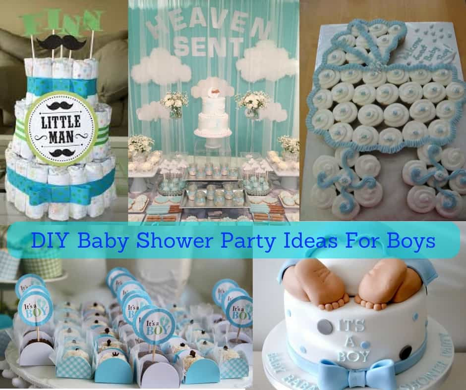 DIY Baby Shower Ideas For A Boy  DIY Baby Shower Party Ideas For Boys August 2018 CHECK