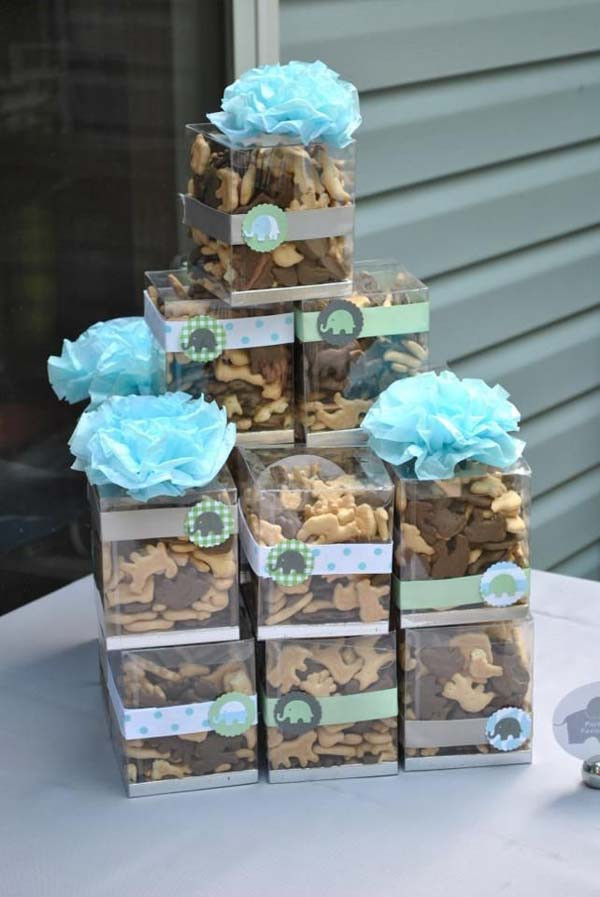 DIY Baby Shower Ideas For A Boy  22 Cute & Low Cost DIY Decorating Ideas for Baby Shower