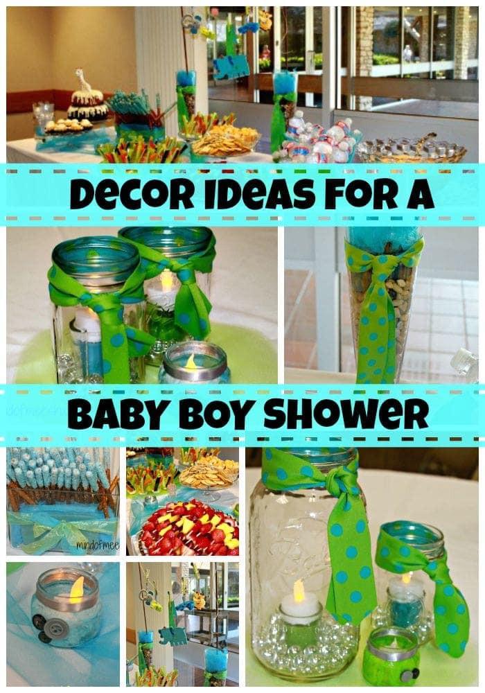 DIY Baby Shower Ideas For A Boy  DIY Boy Baby Shower Decor