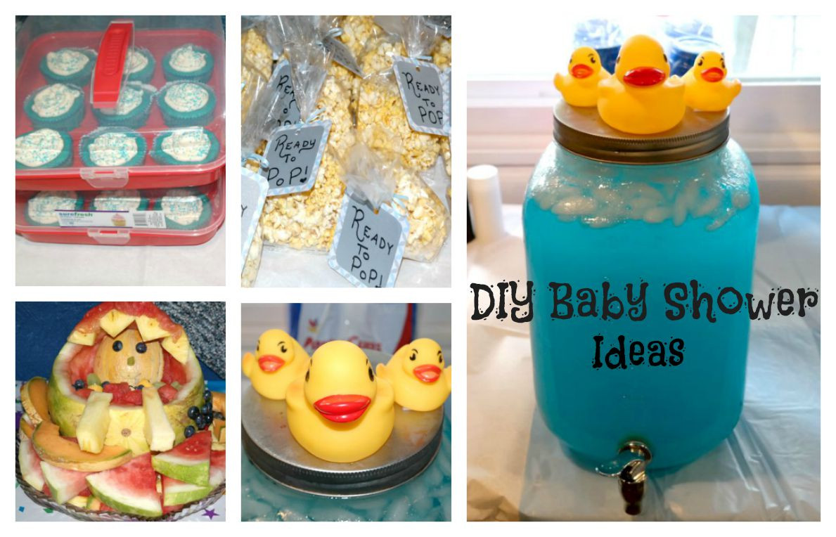 DIY Baby Shower Ideas For A Boy  Passionate About Crafting DIY Baby Boy Baby Shower Ideas