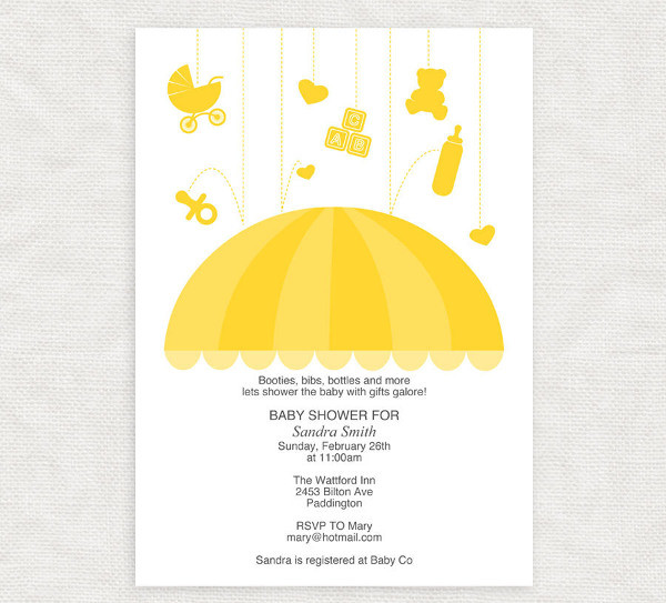 Best ideas about DIY Baby Shower Invitation Templates . Save or Pin 14 Baby Shower Invitations Free Sample Example Design Now.