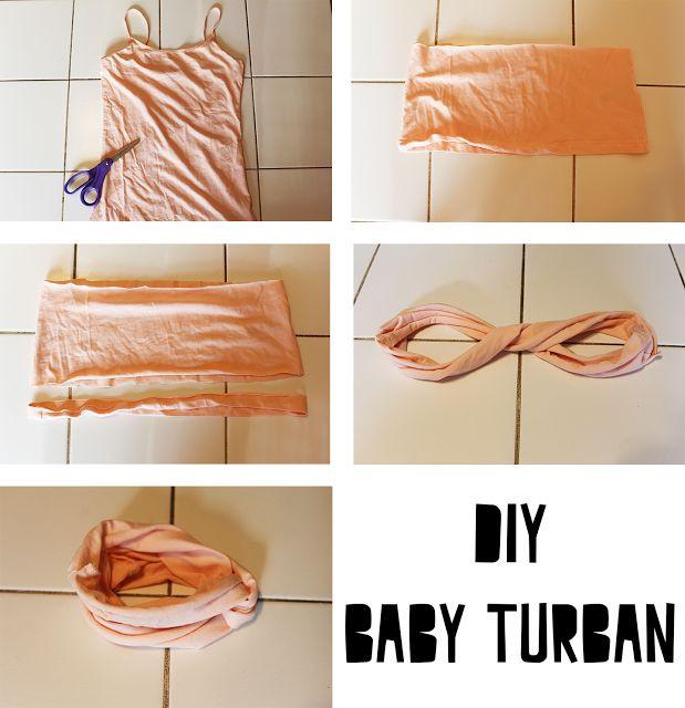 DIY Baby Turban Headband  25 Best Ideas about Baby Turban on Pinterest